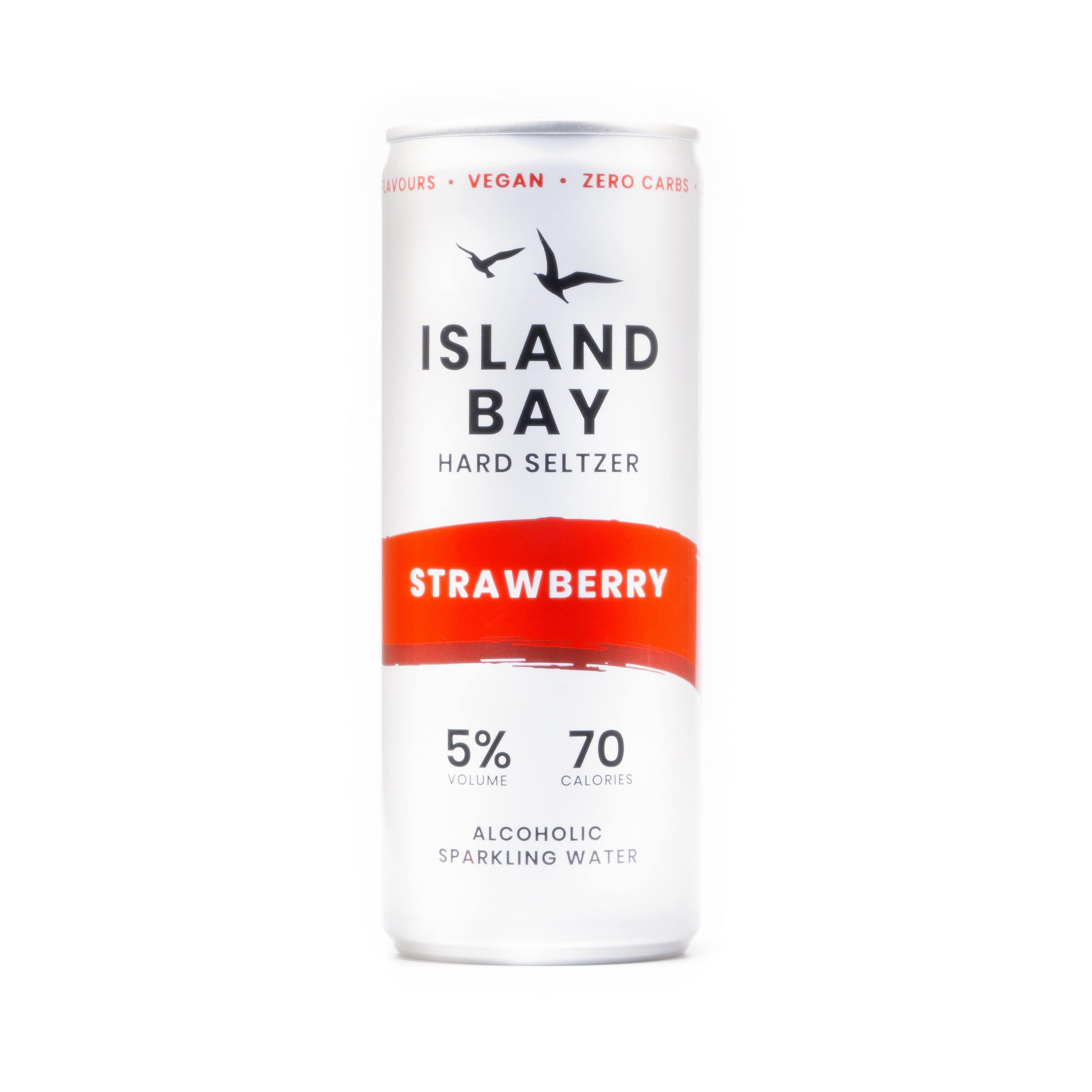 Strawberry Hard Seltzer 250ml