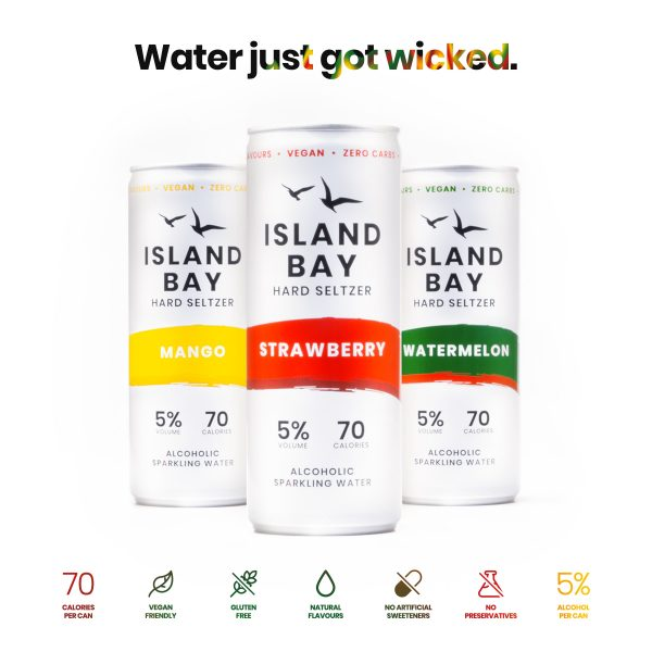 Island Bay Hard Seltzer Mix Pack 250ml